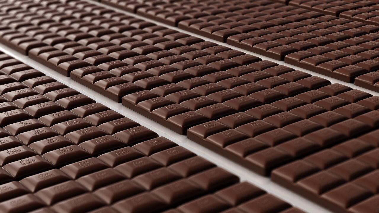 Solent produziert Schokolade, Nüsse und Trockenfrüchte als Teil von Schwarz Produktion