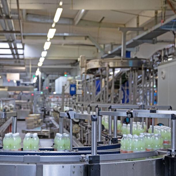 Eine Produktionsanlage bei MEG Kirkel