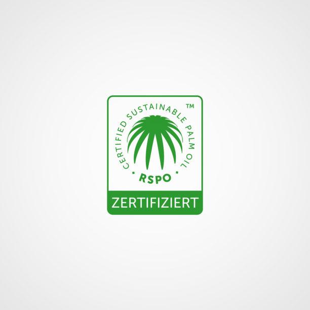 RSPO-Zertifizierung für Produkte mit Palmöl aus nachhaltigem Anbau