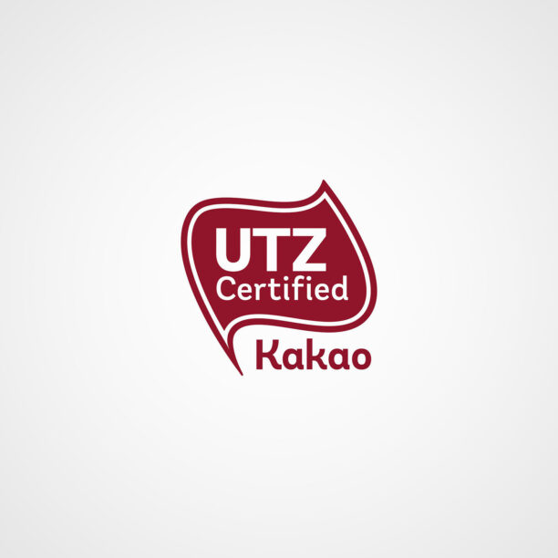 Utz-Certified-Kakao-Siegel für nachhaltige Rohstoffe
