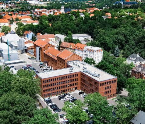Die Zentrale der MEG in Weißenfels