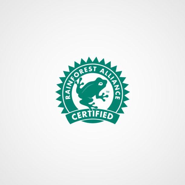 Rainforest-Alliance-Siegel für nachhaltige Rohstoffe