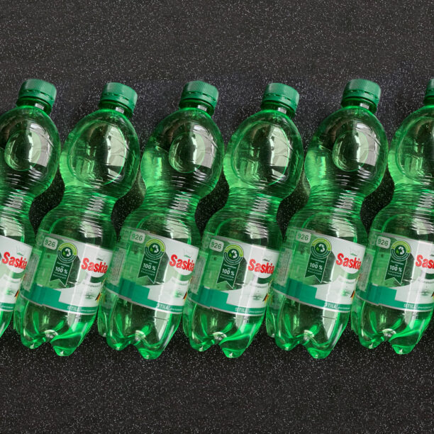 R-PET Flaschen Saskia