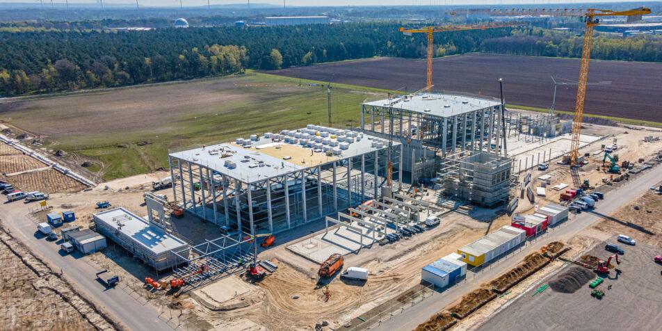 Luftaufnahme Baustelle Rheine